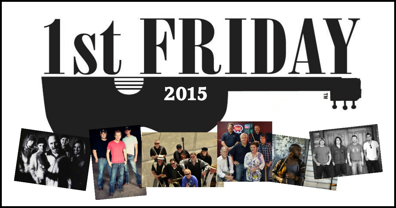 2015 First Friday Bands